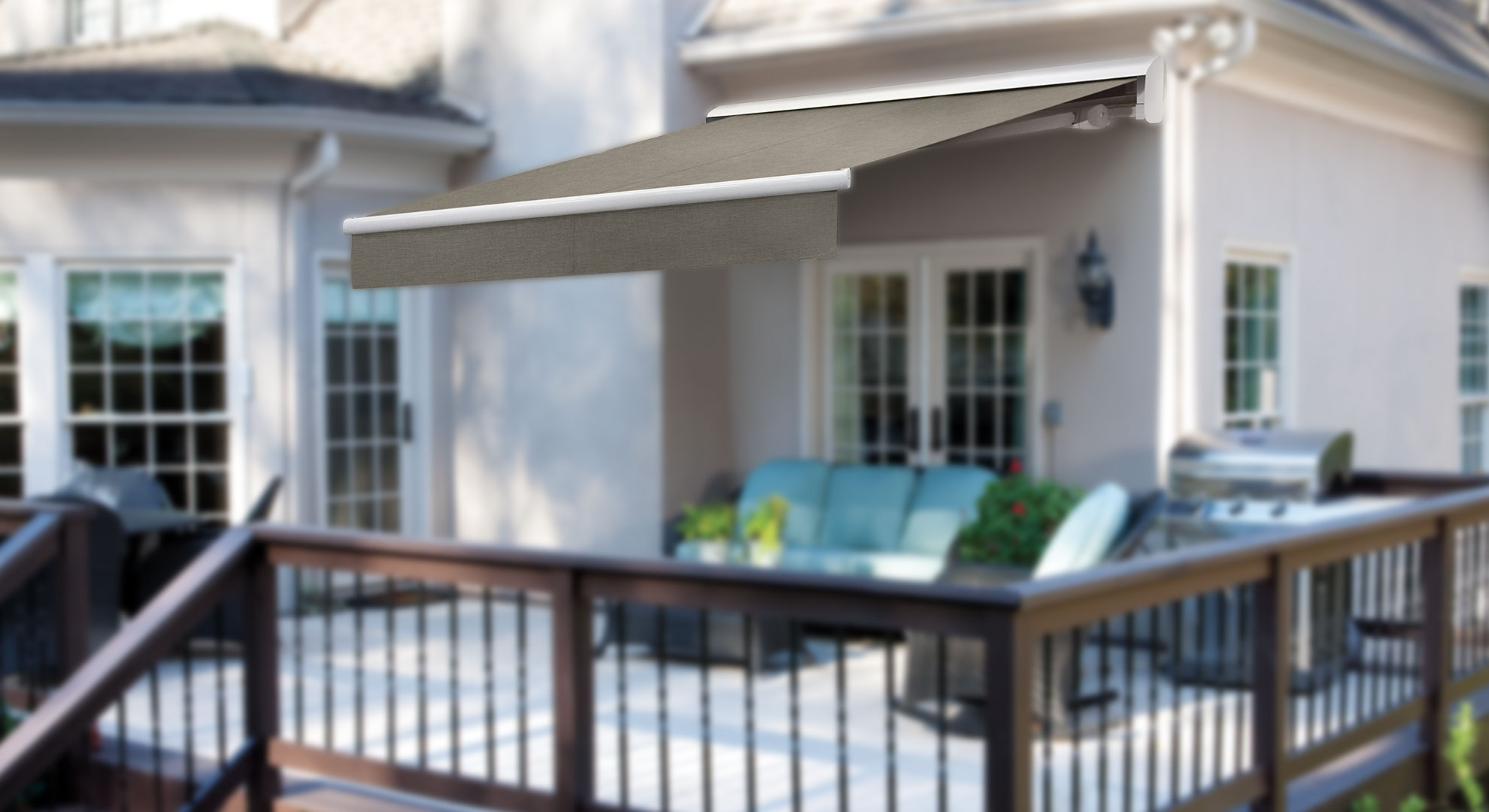 retractable awnings and more from solair shade solutions : solair