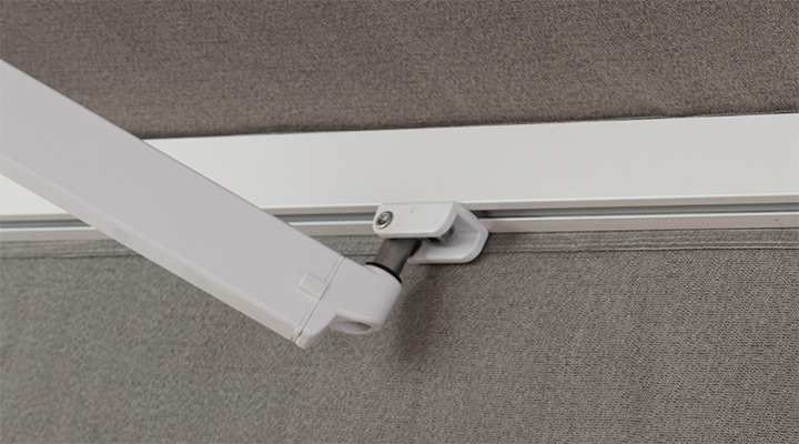 Awning Push Bar : Retractable awnings from solair shade solutions